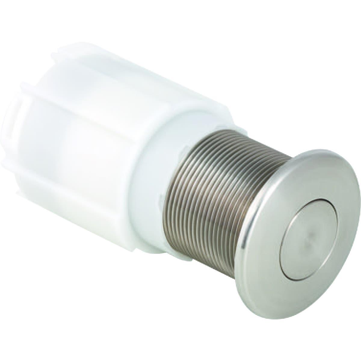Geberit Commande de WC Geberit à déclenchement pneumatique du rinçage, rinçage simple touche, à blocage, pour meuble