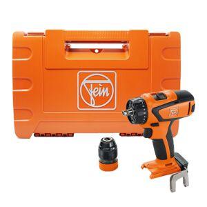 Fein Perceuse-visseuse sans fil 4 vitesses Ascm 18 QSW Select (sans batterie ni chargeur) + accessoires + coffret - Publicité