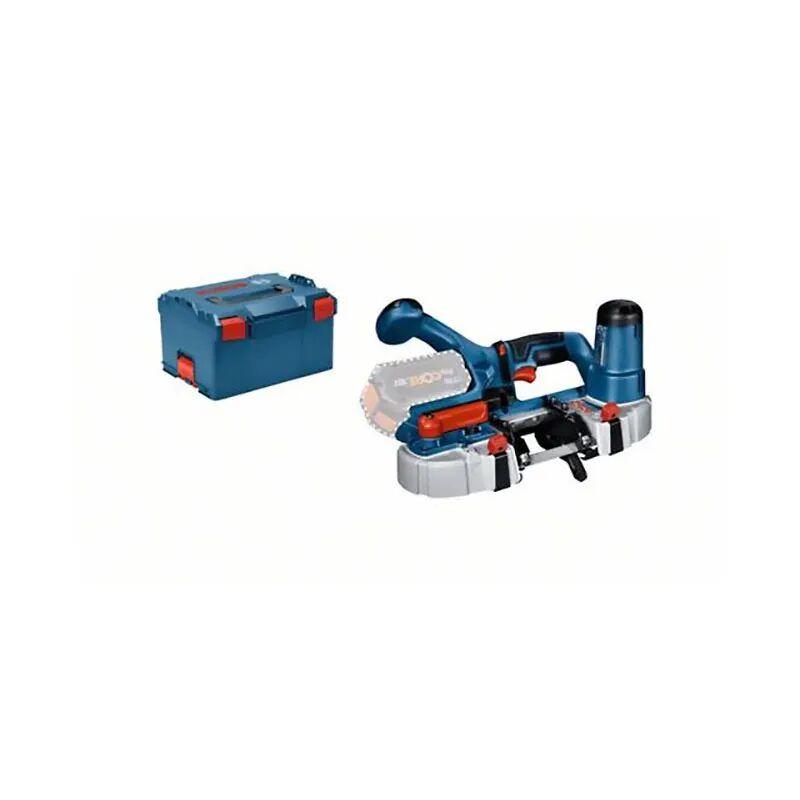 Bosch Scie à ruban sans fil GCB 18V-63 (sans batterie ni chargeur) + L-Boxx
