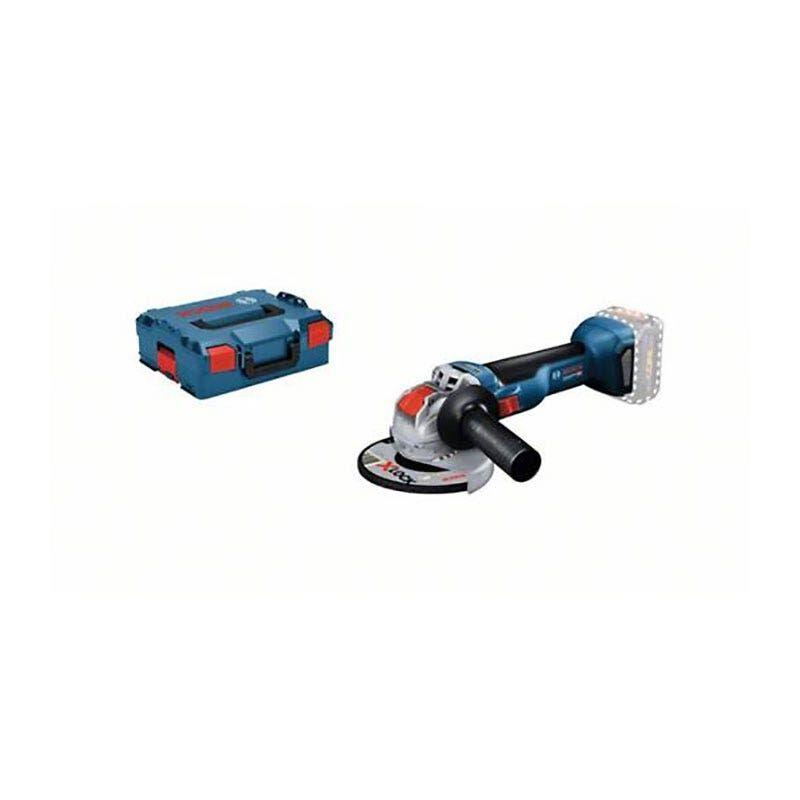 Bosch Meuleuse angulaire sans fil GWX 18V-10 (sans batterie ni chargeur) + coffret L-Boxx