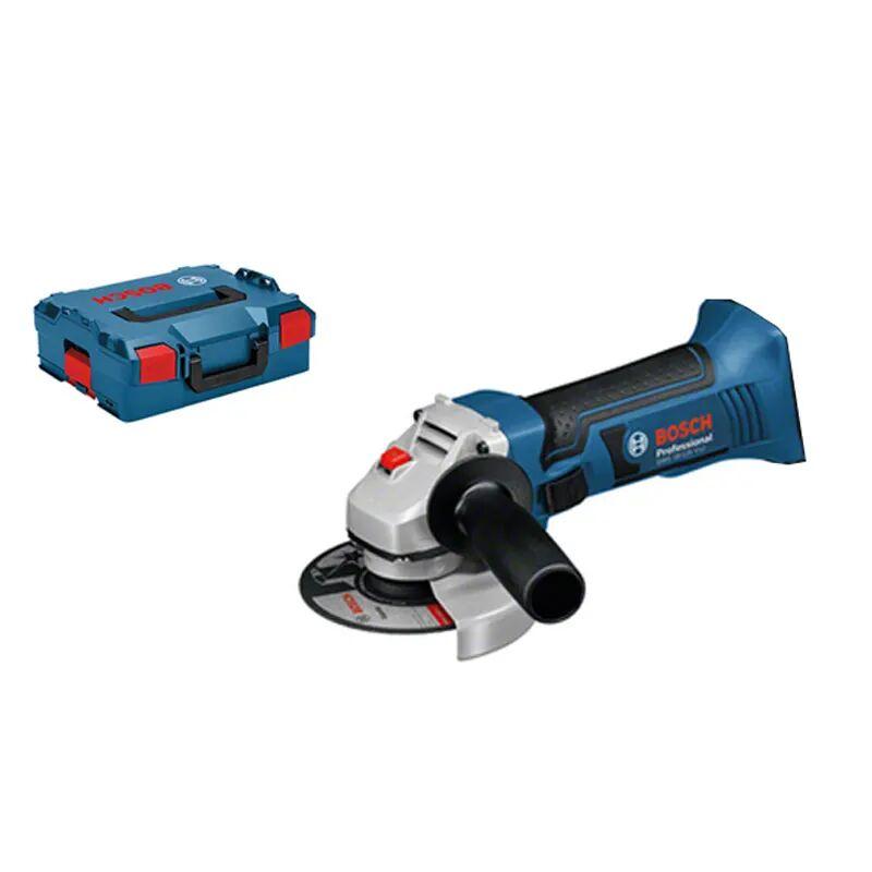 Bosch Meuleuse angulaire sans fil GWS 18-125 V-Li (sans batterie ni chargeur) + 5 accessoires + L-Boxx