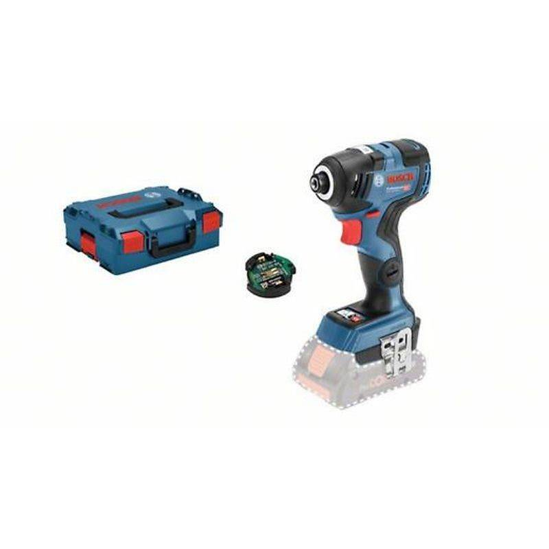 Bosch Visseuse à chocs sans fil GDR 18V-200 C (sans batterie ni chargeur) + 1 module Bluetooth + L-Boxx