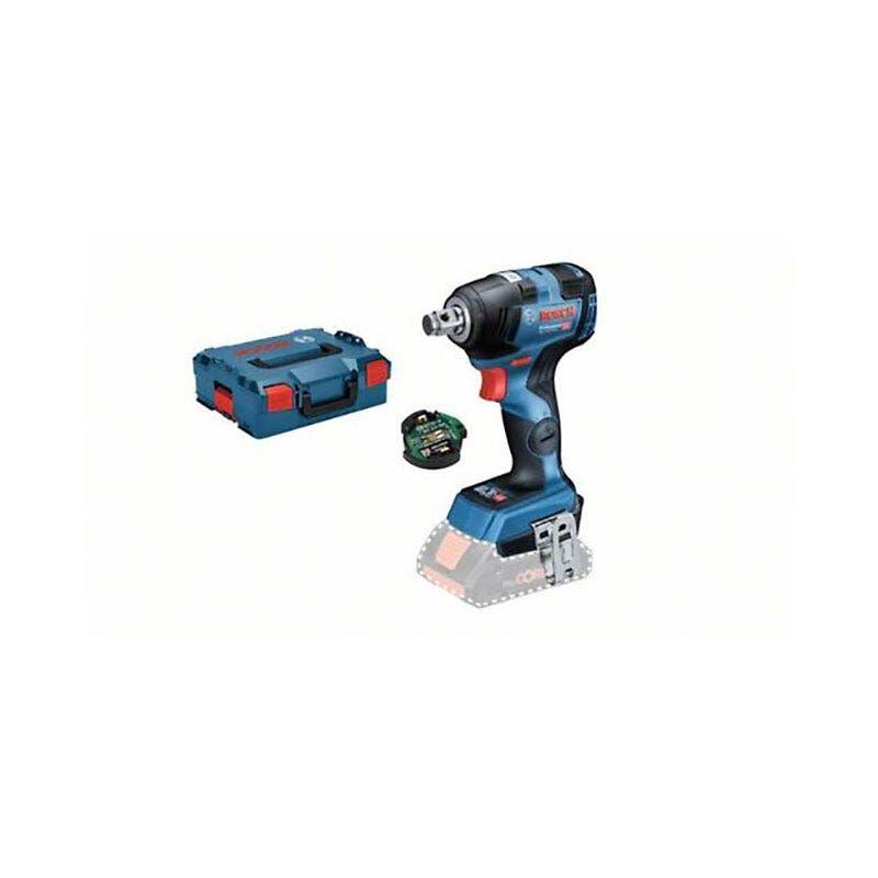 Bosch Boulonneuse sans-fil GDS 18V-200 C connectée (sans batterie ni chargeur) + L-Boxx