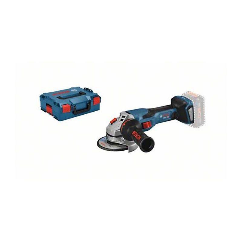 Bosch Meuleuse angulaire sans fil GWS 18V-15 C Biturbo (sans batterie ni chargeur) + L-Boxx