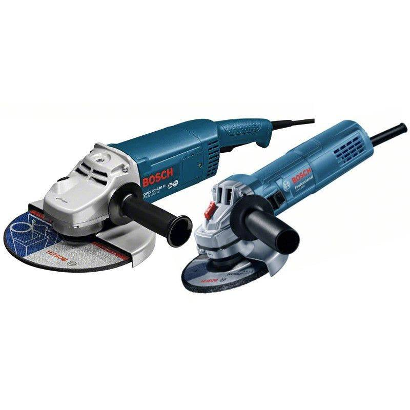 Bosch Meuleuses angulaires filaires GWS 20-230 H + GWS 880