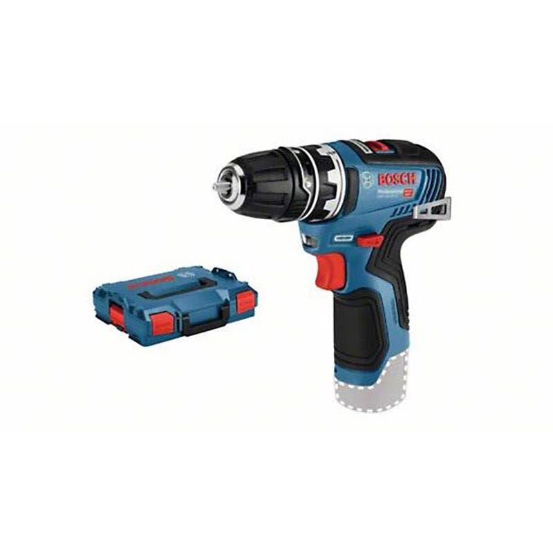 Bosch Perçeuse-visseuse sans fil GSR 12V-35 FC Brushless (sans batterie ni chargeur) + 1 mandrin 10mm + coffret L-Boxx