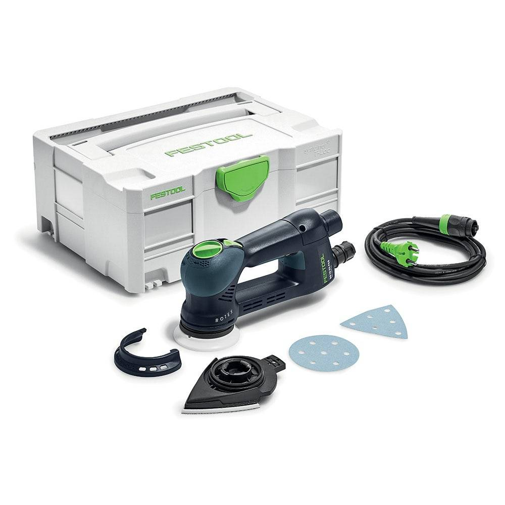 Festool Ponceuse roto excentrique RO 90 DX FEQ-Plus Rotex + accessoires + systainer