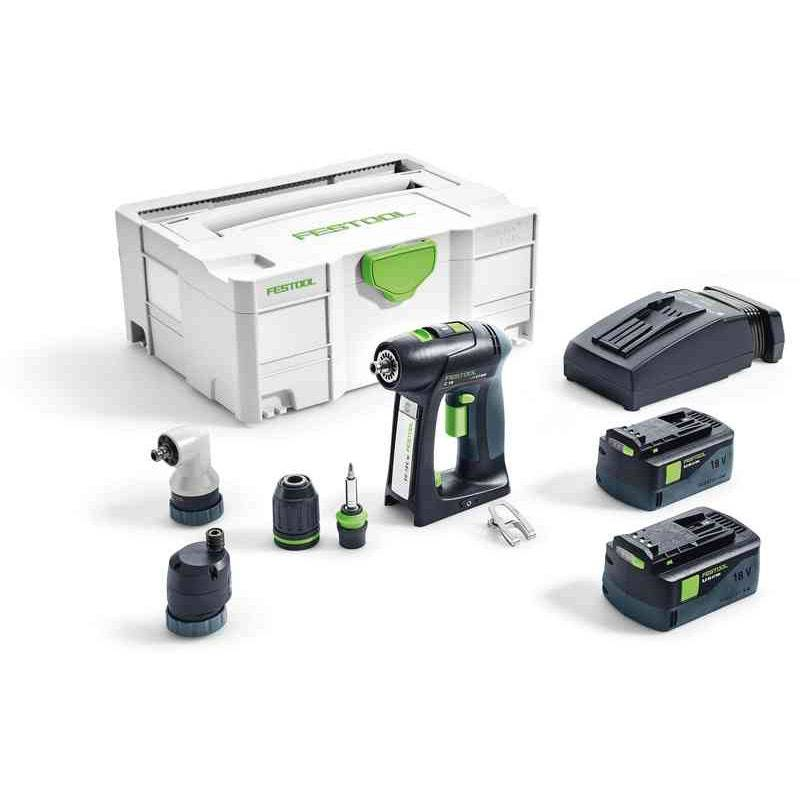 Festool Perceuse-visseuse sans fil C 18 Li 5,2-Set Festool 575672