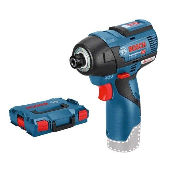 Bosch Clé à chocs sans-fil GDS 12V-115 (sans batterie ni chargeur) + 2 calages L-Boxx pour outils & accessoires + coffret L-Boxx