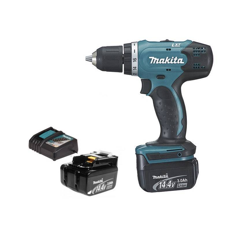 Makita Perceuse visseuse 14,4 V - 2 batteries Li-Ion 3 Ah + chargeur