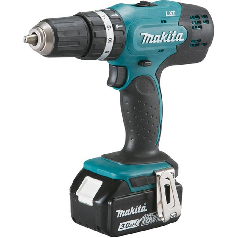 Makita Perceuse visseuse à percussion 18 V Li-Ion 3 Ah Ø 13 mm Makita DHP453SFE