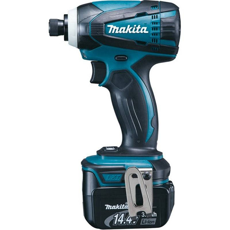 Makita Visseuse à chocs 14,4 V Li-ion 3 ah hex 1/4 155 Nm