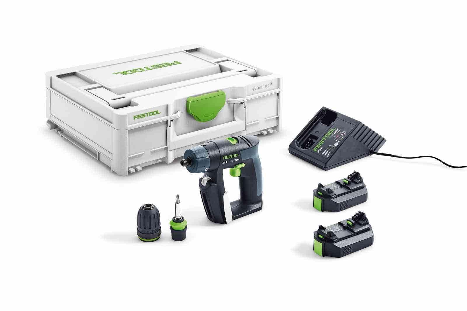 Festool Outil oscillant Vecturo OSC 18V EI-Set + 1 batterie 4Ah + chargeur rapide + 1 lame de scie + systainer