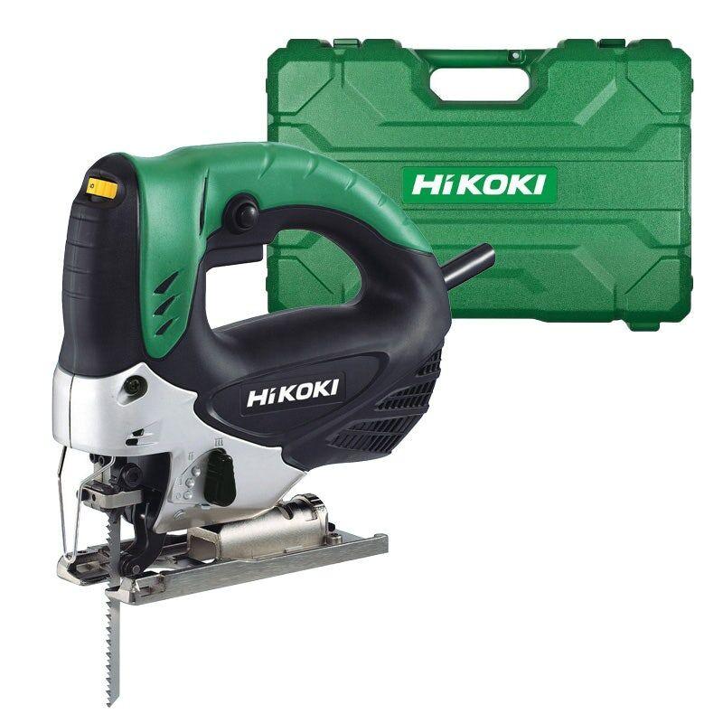 Hikoki Scie sauteuse pendulaire 705W 90mm + coffret