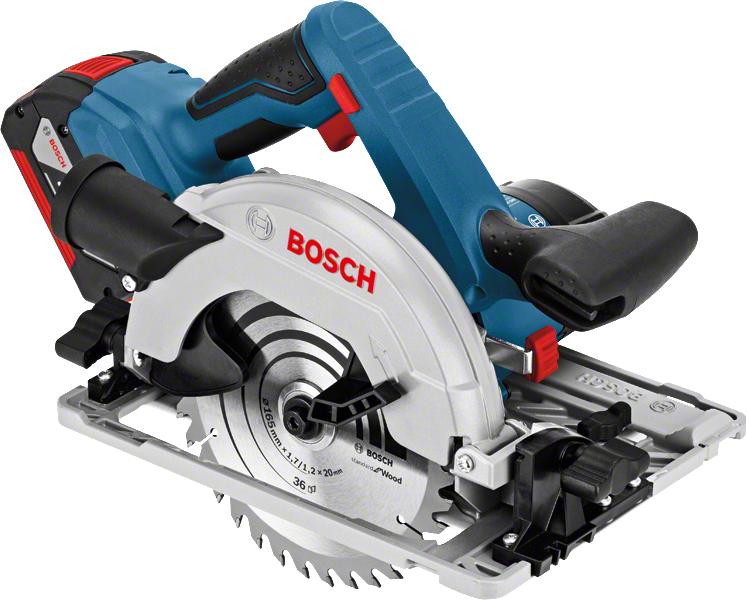 Bosch Scie circulaire sans fil GKS 18V-57 G Professional