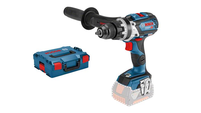 Bosch Perceuse-visseuse à percussion sans fil GSB 18V-85 C Solo