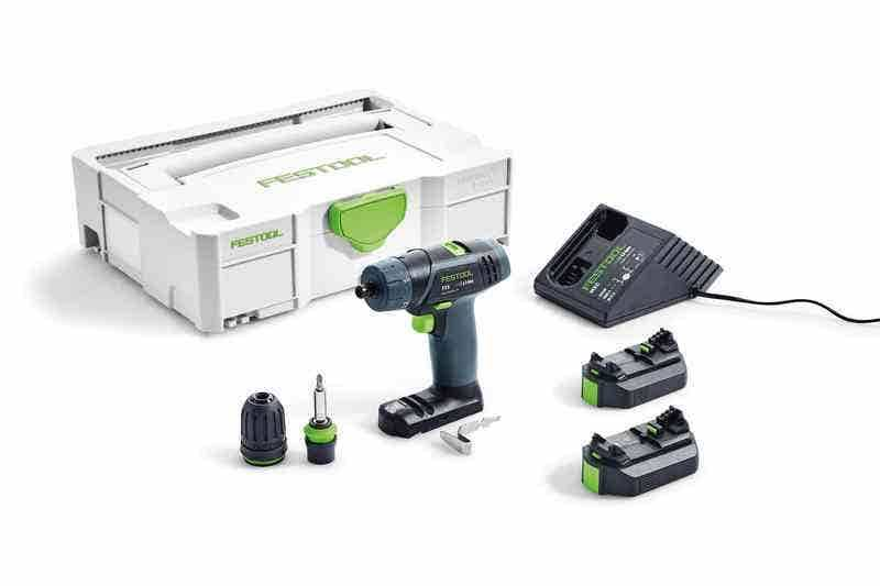 Festool Perceuse-visseuse sans fil TXS Li 2,6-Plus - 2 batteries - 1 chargeur - 1 Systainer -