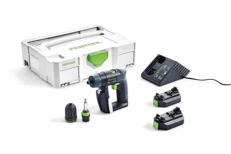 Festool Perceuse-visseuse sans fil CXS Li 2,6-Plus -