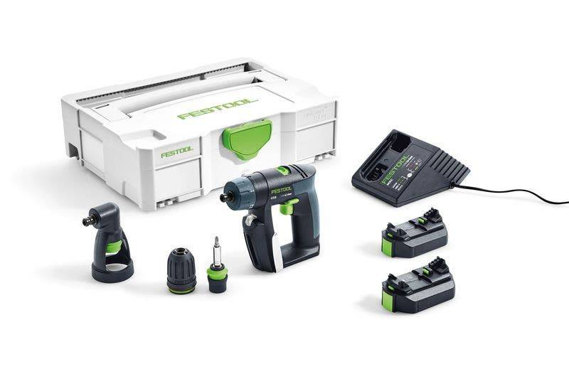 Festool Perceuse-visseuse sans fil Festool CXS Li 2,6-Set