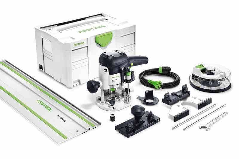 Festool Défonceuse OF 1010 EBQ-Set + Box-OF-S 8/10x HW