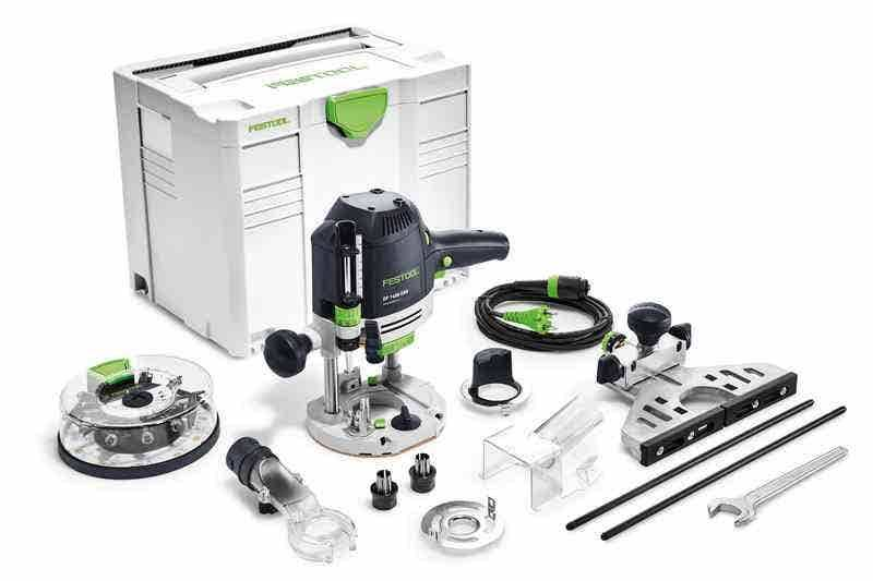 Festool Défonceuse OF 1400 EBQ-Plus + Box-OF-S 8/10x HW