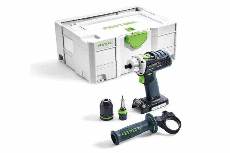 Festool Perceuse-visseuse sans fil DRC 18/4 Li-Basic Quadrive