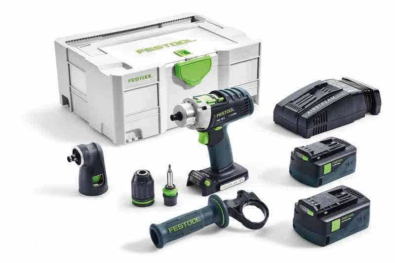Festool Perceuse visseuse à percussion PDC 18/4 Li sans fil Festool 574703