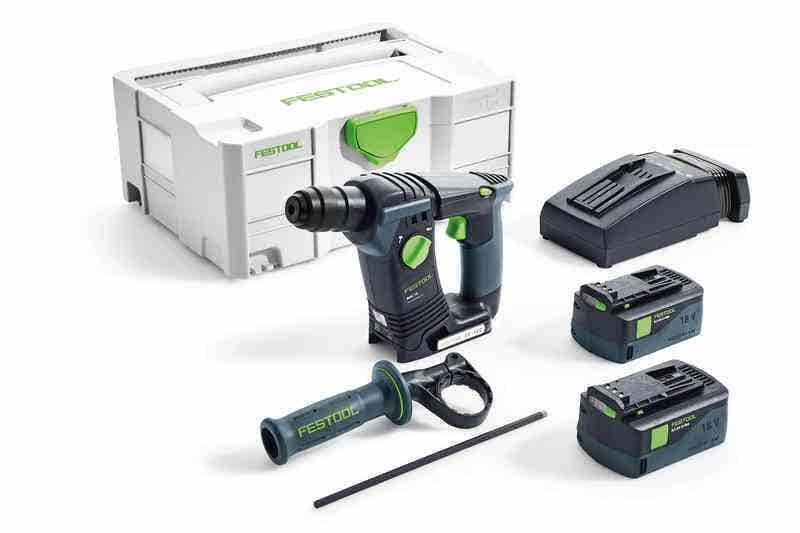 Festool Perforateur sans fil BHC 18 Li 5,2-Plus