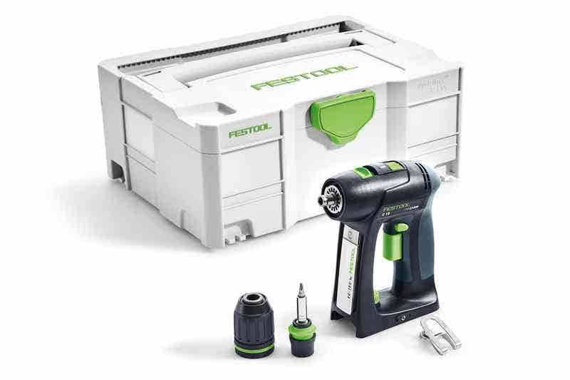 Festool Perceuse-visseuse sans fil C 18 Li-Basic