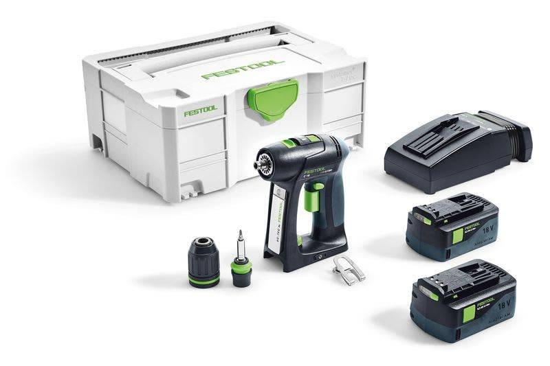 Festool Perceuse-visseuse sans fil C 18 Li 5,2-Plus Festool 574738