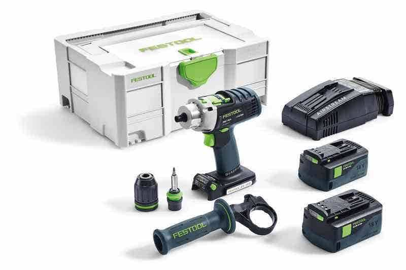 Festool Perceuse-visseuse à percussion sans fil PDC 18/4 Li 5 Festool 574918