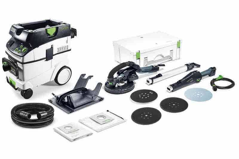 Festool Ponceuse à bras LHS 225-Ip/ctm 36-Set Planex