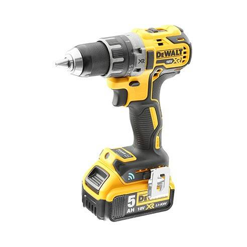 Dewalt 18V XR Brushless Toolconnect Perceuse visseuse 2x5.0Ah en Tstak