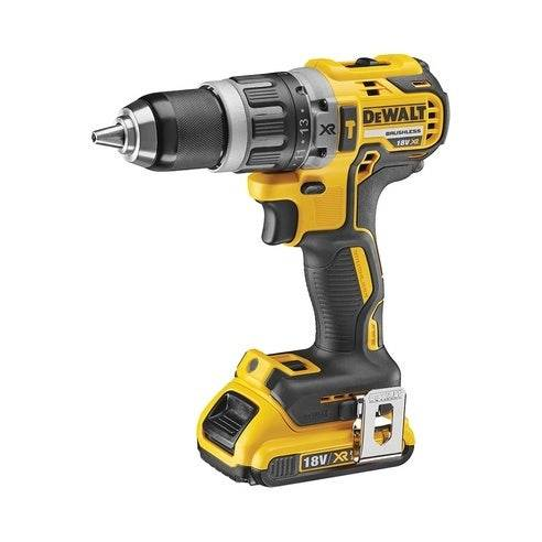 Dewalt 18V XR Brushless Perceuse visseuse à percussion 2x2,0Ah en Tstak