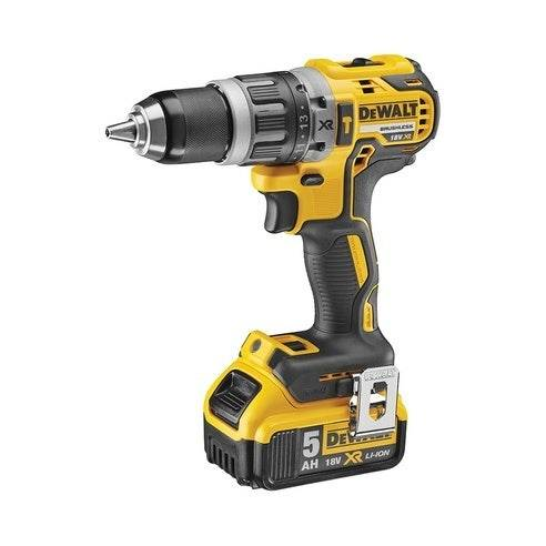 Dewalt 18V XR Brushless Perceuse visseuse à percussion 2x5,0Ah en Tstak