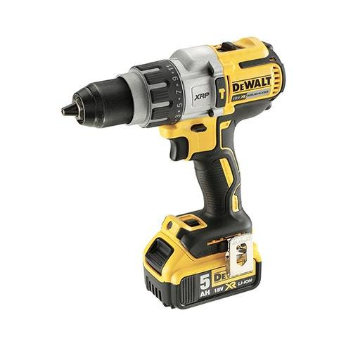 Dewalt 18V XR Brushless Visseuse/Perceuse à percussion XRP 2x5,0Ah en coffret Tstak