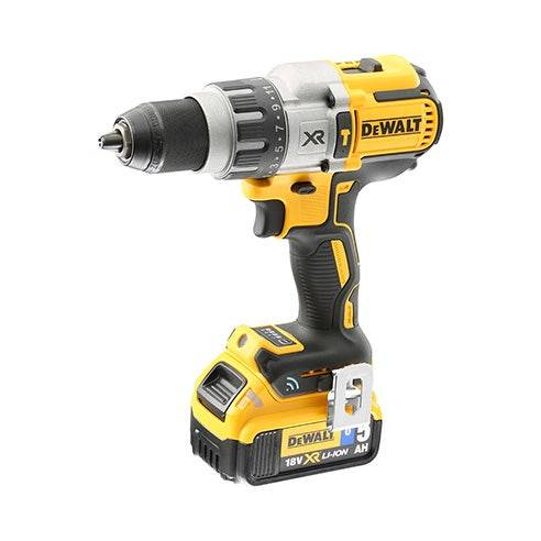 Dewalt Perceuse visseuse percussion XRP 18V 5Ah Li-Ion BL - TOOL CONNECT - 2 batteries - coffret TSTAK Dewalt DCD997P2B