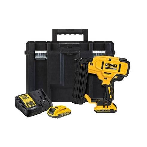 Dewalt FR 18V XR Li-Ion Brushless 18Ga Finish Nailer 2.0Ah Kit