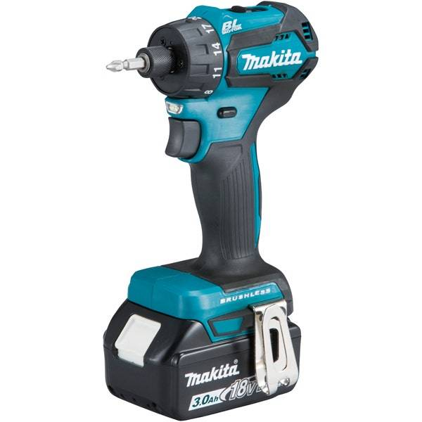 Makita Perceuse visseuse 18 V Li-Ion 3 Ah