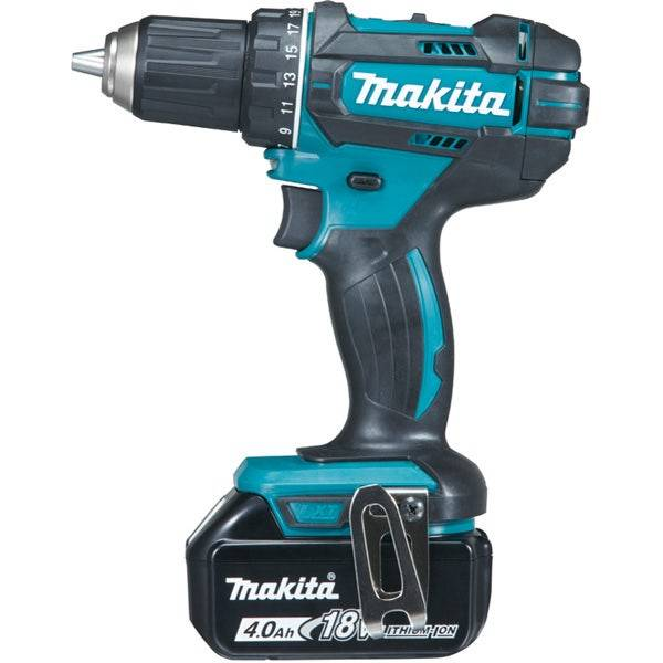 Makita Perceuse visseuse 18 V Li-Ion 4 Ah Ø 13 mm