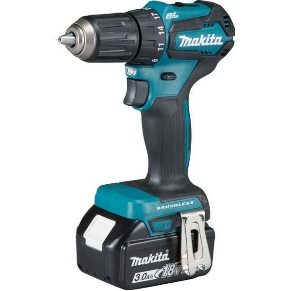 Makita Perceuse visseuse 18 V Li-Ion 3 Ah Ø 13 mm
