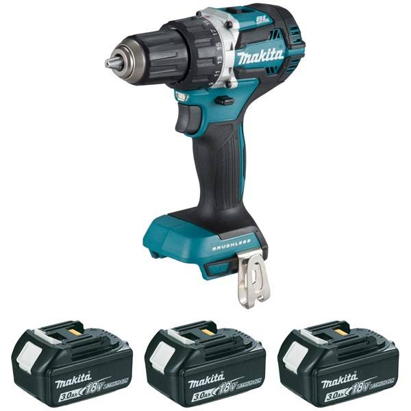 Makita Perceuse visseuse 18 V Li-Ion 3 Ah Ø 13 mm Makpac