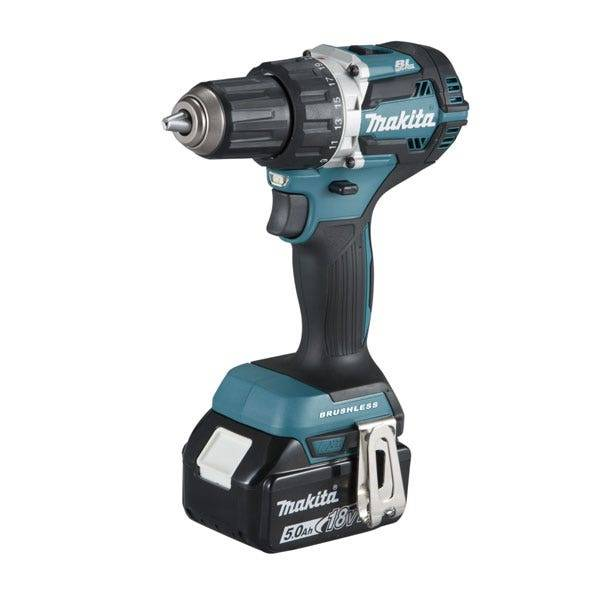 Makita Perceuse visseuse 18 V Li-Ion 5 Ah Ø 13 mm