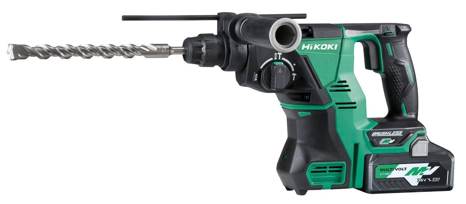 Hikoki Perforateur Burineur 40 mm SDS Max 36 V - 4.0 Ah Li-ion