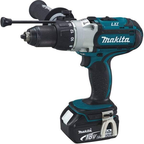 Makita Perceuse visseuse à percussion 18 V Li-Ion 4 Ah Ø 13 mm Makita DHP451RMJ