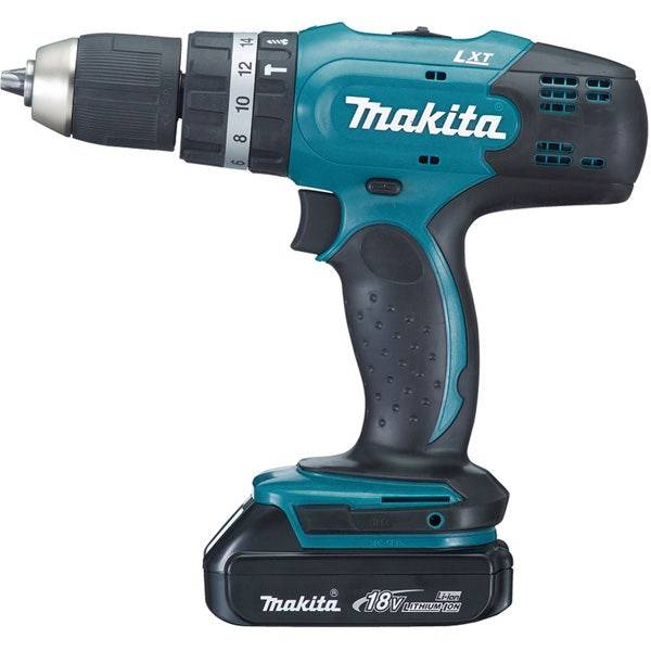 Makita Perceuse visseuse à percussion 18 V Li-Ion 1,5 Ah Ø 13 mm
