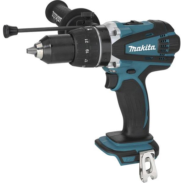 Makita Perceuse visseuse à percussion 18 V Li-Ion Ø 13 mm Makita DHP458Z