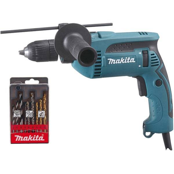 Makita Perceuse à percussion 680 W Ø 13 mm