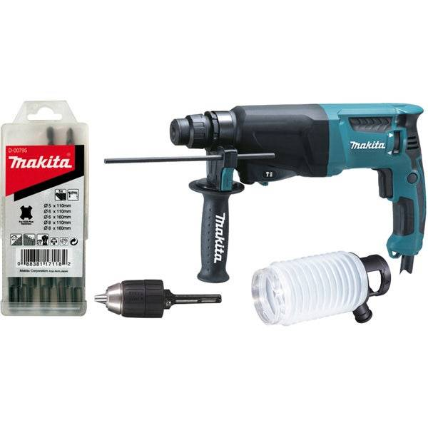 Makita Perforateur SDS-Plus 800 W 26 mm Dustcup
