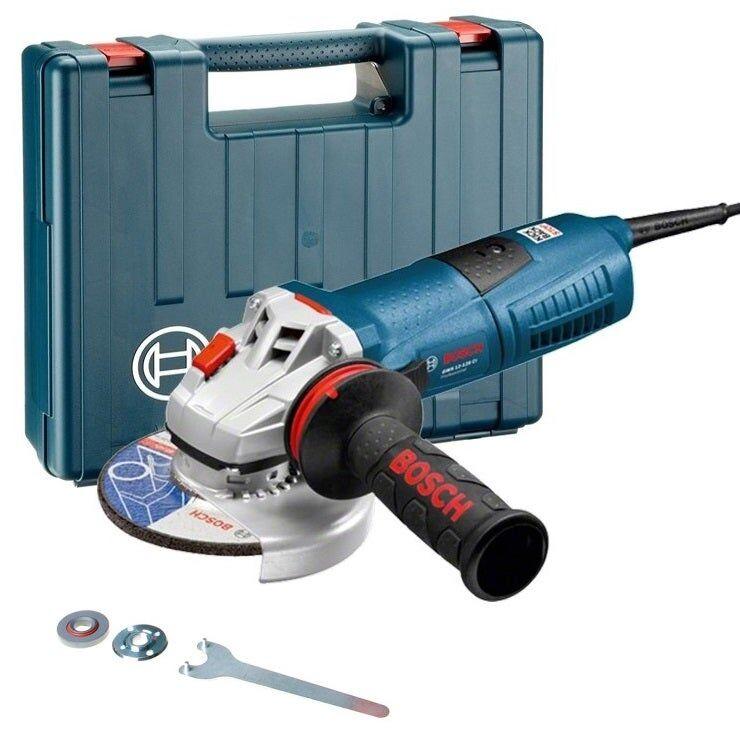 Bosch Meuleuse angulaire filaire GWS 13-125 CI + 5 accessoires + coffret